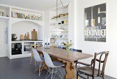 decor, kitchens, interior, modern chairs, scandinavian design, kitchen tables, danish, bo bedr, design styles