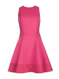 Ted Baker Hearn contrast side dress Pink - House of Fraser