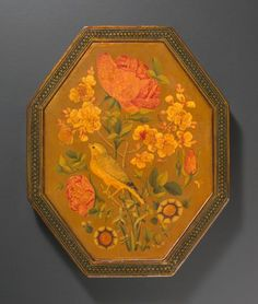 Mirror Case with Birds and Flowers, 18th-19th century, Harvard Art Museums/Arthur M. Sackler Museum.