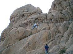 Rock Climbing in Dundgovi at Ih Gazriin Chuluu - what a trip!