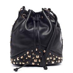 I love the Nila Anthony Studded Bucket Bag from LittleBlackBag