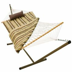Amazon.com: ALGOMA 8911E Rope, Stand, Pad and Pillow Combo: Patio, Lawn & Garden