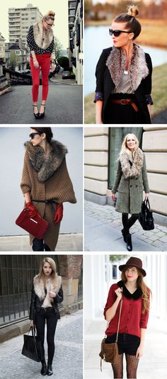 DIY Inspiration: Faux Fur Collars | Transient Expression