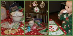 Family Christmas Traditions- Northpole Breakfast and more! family christmas, christma time, christma fun, christma tradit, famili christma