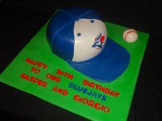 BlueJays 30th birthday cake