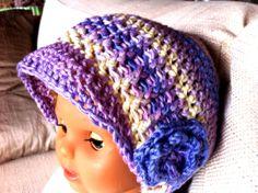 Touca crochet