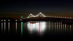 pell bridge in newport, ri