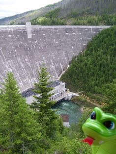 Hungry Horse Dam.