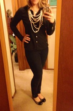 A little blurry but Business Casual Work Outfit #65