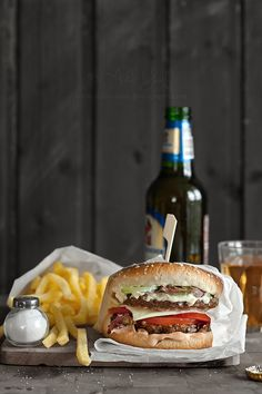 More Burger n' Chips by aisha.yusaf, via Flickr
