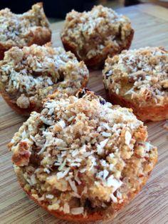 coconut banana muffins ~gluten and grain free~