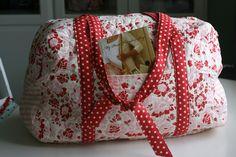 misc sew, sew crafti, sew bag, quilt, pari, overnight bag, handmad bag, craft joy, bags