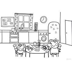 Dibujo para colorear de Peppa Pig (nº 17)