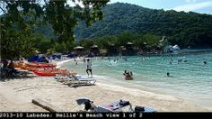 Nellie's Beach, Labadee, Haiti. One of our cruise stops this summer.