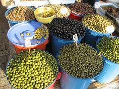 Albania is blessed with Mediterranean climate which allows it to cultivate a lot of olives. They are definitively an essential part of Albanians' diet. There is a big variety of tastes and flavors of Albanian olives depending on the region they come form.  http://www.outdooralbania.com
