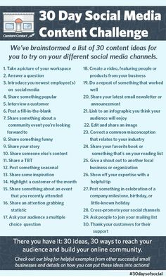 What's the hardest part of using social media for your business or organization?  If you're like most small business owners, coming up with #content is at the top of your list.