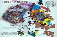 Puzzles Organization