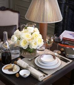 table settings, dine room, decorating blogs, dinners, bottega veneta, entertain, flower, decor idea, tabl set