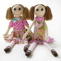 Rag Dolls, by Nana Huchy, Baby Girl Gifts