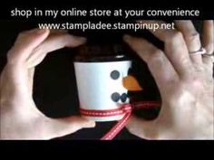 Mini Coffee Cup Snowman with Deb Valder - YouTube
