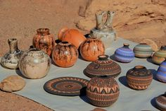 Native American Pottery  Canyon de Chelly, Arizona