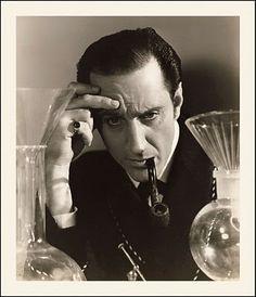 Basil Rathbone as Sherlock Holmes http://mydelineatedlife.blogspot.com/