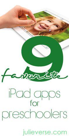 Best apps for preschoolers