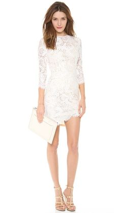 The most PERFECT lace dress. #couldihavethat