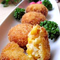 Corn Cream Croquettes
