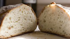 Anyone can make this inexpensive, crusty baked bread. No kneading required. (No kidding!)