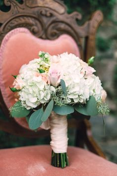 #Bouquet | See More on SMP: http://www.StyleMePretty.com/washington-dc-weddings/2014/01/06/romantic-blush-teal-wedding-inspiration/ Amelia Johnson Photography
