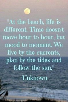 summer kids, at the beach life is different, follow the sun, the ocean, beach quotes