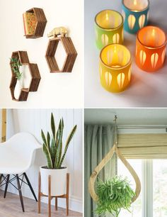 DIY Mid Century Modern Accessories