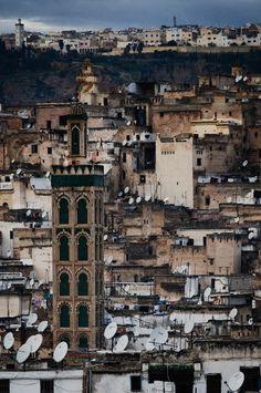Overlooking Fez   Mo...