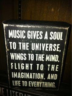 Amazing music quote