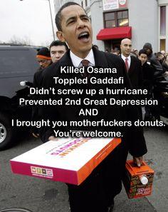Unappreciated President Obama