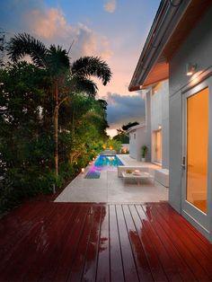 considerar solo jardín y terraza