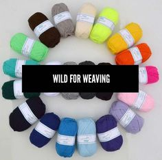Wild for weaving | @