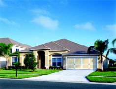 Simple elegance is great for curb appeal.
