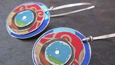 upcycled tin jewelry