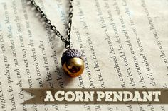 Made from an acorn