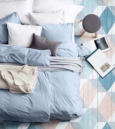 paint floor, color schemes, room colors, blue bedrooms, bed floor, floor patterns, painted floors