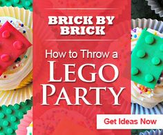 How to throw a LEGO-themed party. The food, the games and the decor. #LEGO #birthdayparties #savvymom