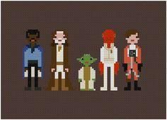Cross-stitching - Star Wars #starwars