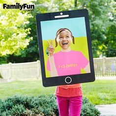 Selfie Costume: This trendy costume turns your child into a cell phone snapshot come to life.
