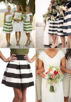 Bridesmaid Style: Stylish Stripes