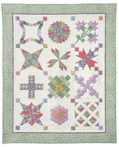 Egg Money Sampler Quilt