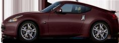 Nissan 370Z in Black Cherry