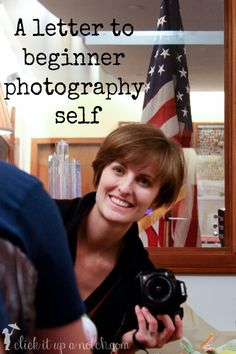 Letter to Beginner Photography Self
