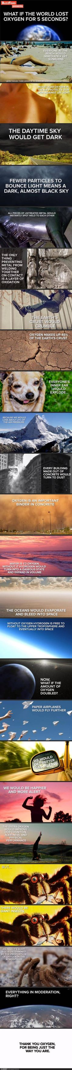 Oxygen, don't take it for granted. Giant spiders and instant sunburns are bad, mmmmkay?